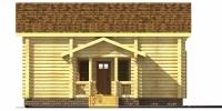Баня Царская (фасад 2)