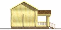Баня Царская (фасад 3)