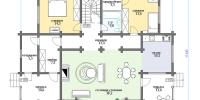 Дом Апрель план 1