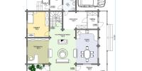 Дом Байкал план 1