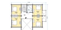 Дом Байкал план 2