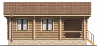Дом Дачный фасад 4