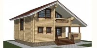 Дом Династия фасад 4