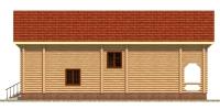 Дом Енисей фасад 2
