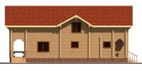 Дом Енисей фасад 4