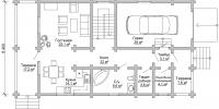 Дом Енисей план 1