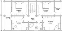 Дом Енисей план 2