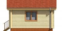 Дом Гостевой фасад 2