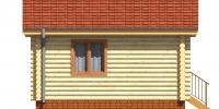 Дом Гостевой фасад 4