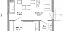Дом Гостевой план
