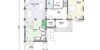 Дом Италия план 1 этаж