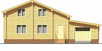 Дом Очаг фасад 1