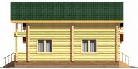 Дом Очаг фасад 4