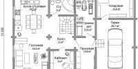 Дом Очаг план 1