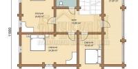 Деревянный дом Парус p2
