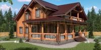 Деревянный дом Парус w1