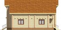 Дом Север фасад 2