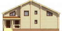 Дом Север фасад 3