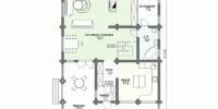 Дом Шале план 1