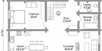 Дом Сидней план 1
