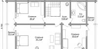 Дом Сидней план 2