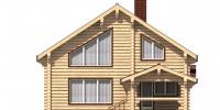 Дом Солнечный фасад 3