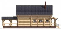Дом Солнечный фасад 2