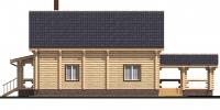 Дом Солнечный фасад 4
