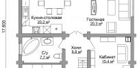 Дом Солнечный план 1