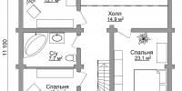 Дом Солнечный план 2