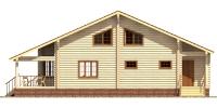 Дом Спартак фасад 3