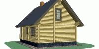 Дом Терем фасад 3
