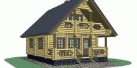 Дом Терем фасад 1