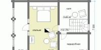 Дом Терем план 2