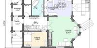 Дом Усадьба план 1