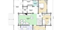 Дом Волга план 1