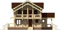 Дом Вятка фасад 1