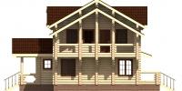 Дом Вятка фасад 3