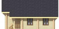 Дом Янтарь фасад 2