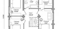 Дом Янтарь план 2