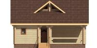 Дом Загородный фасад 1