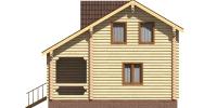Дом Загородный фасад 2