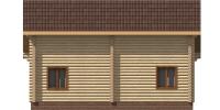 Дом Загородный фасад 3