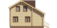 Дом Загородный фасад 4