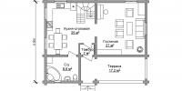 Дом Загородный план 12