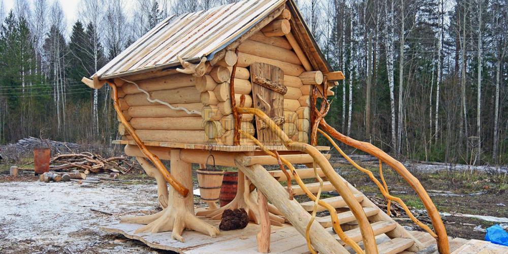 Избушка Бабы Яги . Московская область , г. Ступино
