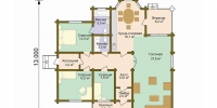 Дом Гостеприимный (План)