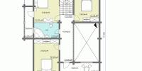 Деревянный дом Надежный (План 2)
