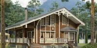 Деревянный дом Оригинальный (фото)
