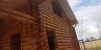 Отделка деревянного  дома вид 3